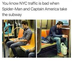 I Saw A Spider Meme - dopl3r com memes you know nyc traffic is bad when spider man and