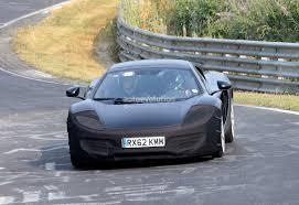camo mclaren spyshots 2014 mclaren mp4 12c facelift updated autoevolution