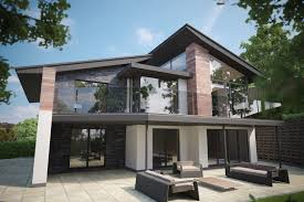 tree tops 2 modern contemporary new build house коттеджная