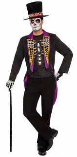 day of the dead costumes men s plus size formal day of the dead costume dia de los