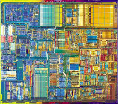 chip design what does a cpu look like
