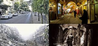 syria before and after before and after heartbreaking photos display what war did to