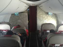 siege business air royal air maroc première class business class flight review hd