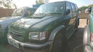 used isuzu trooper cars for sale motors co uk