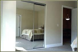 Mirror Sliding Closet Doors For Bedrooms Mirrored Sliding Closet Door Mirror Doors Contemporary Decoration