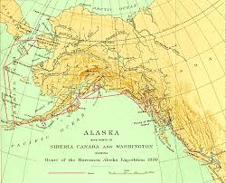 map of the united states showing alaska and hawaii alaska map
