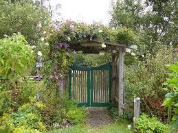 Garden Gate Garden Ideas Gate To Vegetable Garden Picture Of Mendocino Coast Botanical