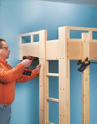 build a loft bed black decker