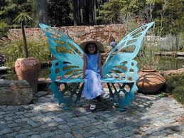 Butterfly Bench Metal Butterfly Bench Large For Sale Cottage U0026 Bungalow
