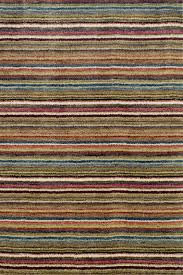 6 X 8 Area Rug Dash And Albert Brindle Stripe Spice 2 U00276