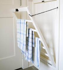 kitchen towel holder ideas dish towel rack traditional kitchen bhg