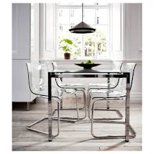 furniture darnell cottage dining room cylindrical chrome plated