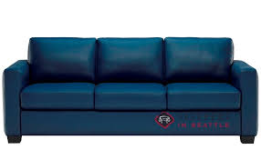 Queen Sleeper Sofa by Customize And Personalize Roya B735 Queen Leather Sofa By