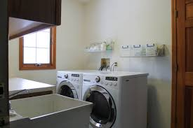 washer that hooks up to sink laundry room renovation update white house black shutters
