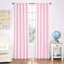 Amazoncom Eclipse Kids Microfiber Room Darkening Window Curtain - Room darkening curtains for kids