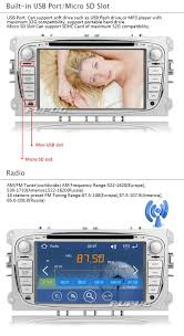 eincar 2 din wince system car dvd gps for ford mondeo amazon co