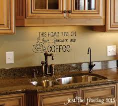 decorating good coffee wall kitchen decor with black frame decorating coffee quotation kitchen backsplash decor above the sink coffee decorations for kitchen