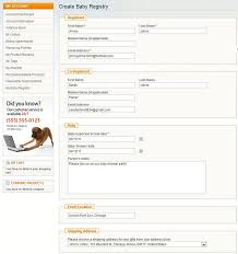 registry for baby shower magento gift registry magento gift list extension mageworx