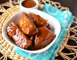 slow cooker boneless bbq pork ribs simple sweet u0026 savory