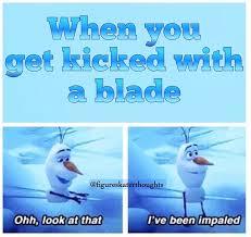 Figure Skating Memes - funny ice figure skating meme olaf always makes memes better