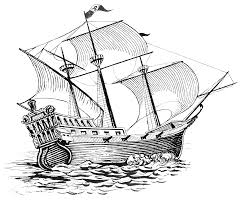 galleon psf png 3322 2838 ships pinterest ships