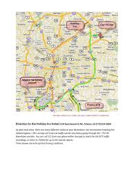 Atlanta Bypass Map Complete Directions Hull Steininger Wedding Weekend