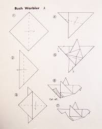simple origami birds for kids creative jewish mom
