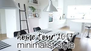 Free Kitchen Design Home Visit by Home Tour 2017 Minimal U0026 Clutter Free Youtube