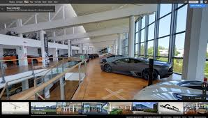 lamborghini showroom building take a virtual tour of the lamborghini museum thanks to google maps