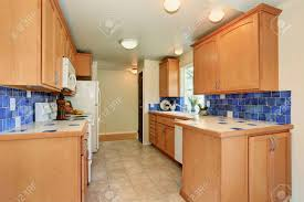 white kitchen cabinets with blue tiles kitchen interior maple cabinets with blue tile back splash trim