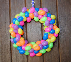how to make easter wreaths easy easter egg wreath projects