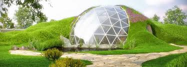 geodesic domes inhabitat green design innovation stunning geodesic domes from romania can handle earthquakes up to 8 5 on the richter scale