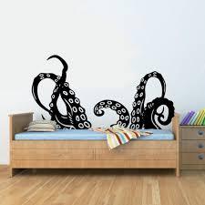 amazon com octopus tentacles arms vinyl wall art decal sticker amazon com octopus tentacles arms vinyl wall art decal sticker home kitchen