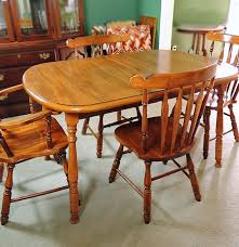Henkel Harris Dining Room Virginia House Dining Table And Four Chairs Ebth