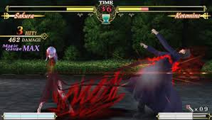 theme psp fate stay night review fate unlimited codes sony psp diehard gamefan