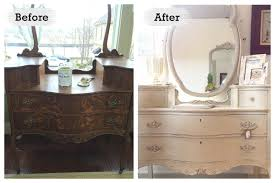 Decorating Before And After by Furniture Refurbished Furniture Before And After Interior