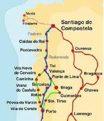 santiago de compostela camino camino portugu礬s porto santiago mr