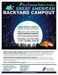 great american backyard campout in new canaan kidhaven u2013 things