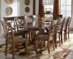 10 chair dining table set rustic dining room table sets marceladick com