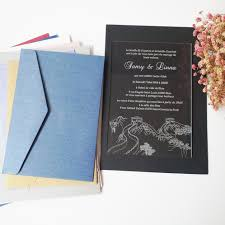 Wedding Invitation Cards China Online Buy Wholesale Order Wedding Invitations From China Order