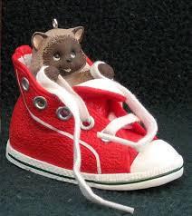 hallmark kitten in high top sneaker ornament high top