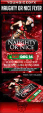 naughty or nice christmas party flyer by youngicegfx graphicriver