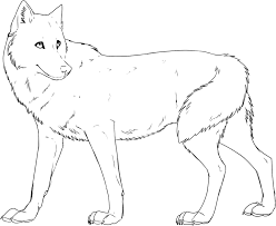 wolf coloring pages fablesfromthefriends