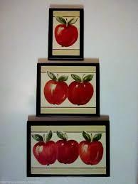 Apple Wall Decor Kitchen Shenracom - Park designs home decor