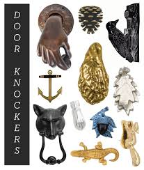 14 door knockers for a fresh new look u2013 design sponge