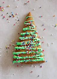 christmas trees gingerbread christmas tree cookies skinnytaste