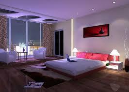 Bedrooms Design Splendid Big Bedroom With Fantastic Led Lights Decor And Lovable