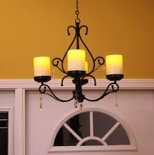 Candle Chandelier Lighting Outdoor Candle Chandelier Non Electric Home Lighting Design Ideas