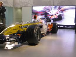 renault f1 renault f1 gains a head start with barco barco