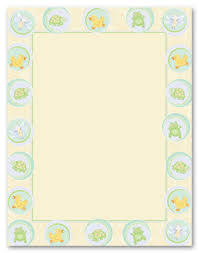 baby shower paper sweet babies stationery letterhead baby shower stationery 5774